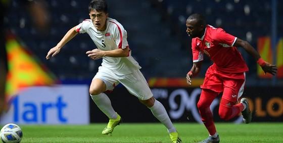 CHDCND Triều Tiên trắng tay trước Jordan ở trận ra quân. Ảnh: AFC