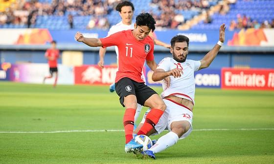 Hàn Quốc sớm giành vé vào tứ kết U23 châu Á ảnh 1