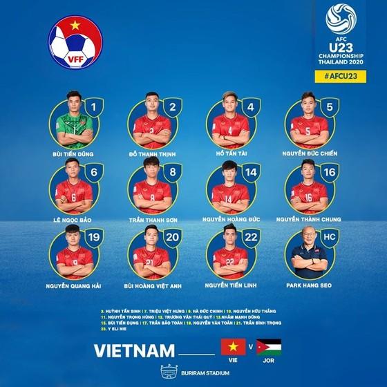 U23 Việt Nam - U23 Jordan 0-0: Việt Nam tạo sức ép dồn dập vào cuối trận ảnh 1