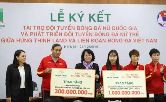 Hưng Thịnh Land, người bạn đồng hành mới với bóng đá nữ Việt Nam