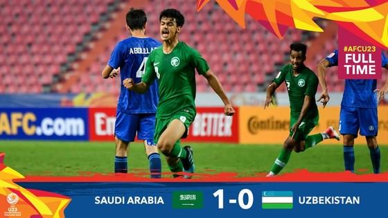 Saudi Arabia đã biến Uzkekistan trở thành cựu vương. Ảnh: AFC