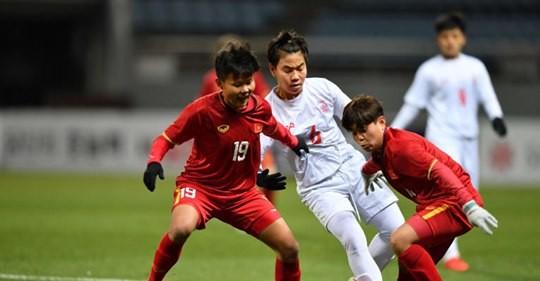 Các cầu thủ Việt Nam đã lọt vào tốp 4 đội mạnh nhất châu Á. Ảnh: AFC