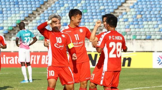 CLB TPHCM suýt trắng tay tại Myanmar. Ảnh: AFC