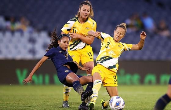 "Trận Australia ""đè bẹp"" Thái Lan 6-0 ở vòng bảng. Ảnh: AFC"