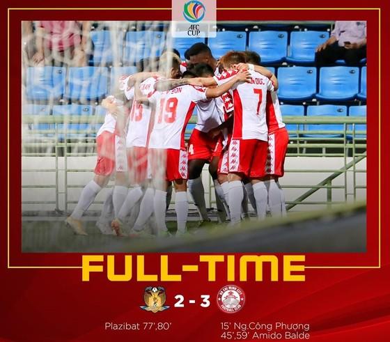 CLB TPHCM giành 3 điểm tại Singapore ảnh 3
