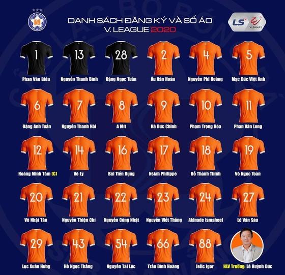 Đà Nẵng chốt danh sách dự LS V-League 2020 ảnh 1