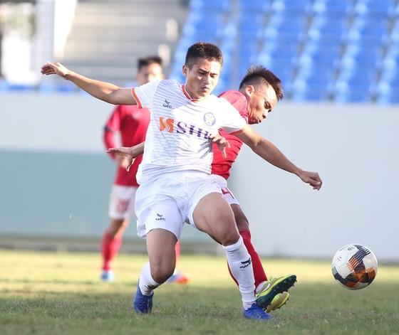 Phi Hoàng, cầu thủ trẻ nhiều triển vọng của Đà Nẵng, Ảnh: Viết Định