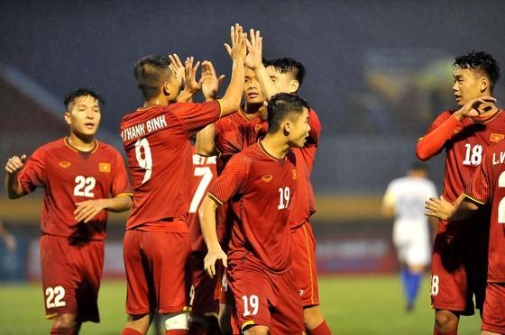 Đội tuyển U21 Việt Nam tham dự BTV Cup 2019. Ảnh: NGUYỄN NHÂN