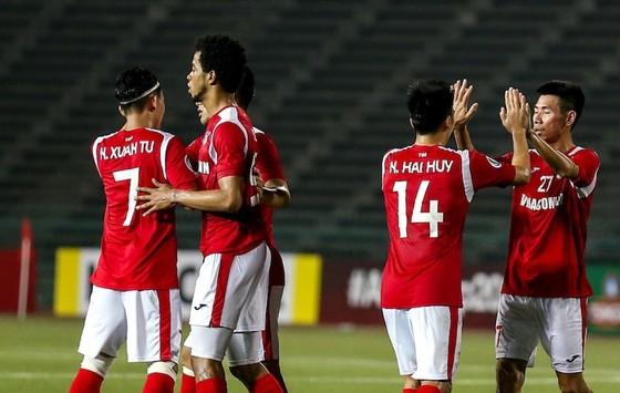Than Quảng Ninh thắng lớn trện sân khách. Ảnh: AFC