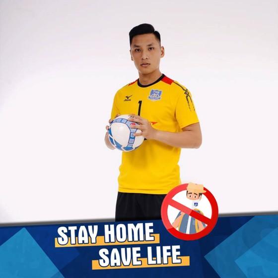 Futsal Thái Sơn Nam truyền thông điệp ở nhà chống Covid-19 ảnh 2