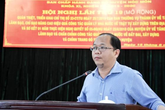 Trên 50 cán bộ công chức huyện Hóc Môn bị kỷ luật vì sai phạm trong lĩnh vực đất đai, xây dựng ảnh 4