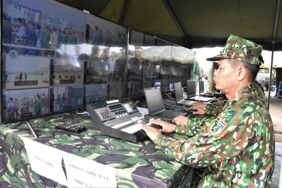 Việt Nam – Campuchia diễn tập cứu hộ, cứu nạn khu vực biên giới đất liền   ảnh 12