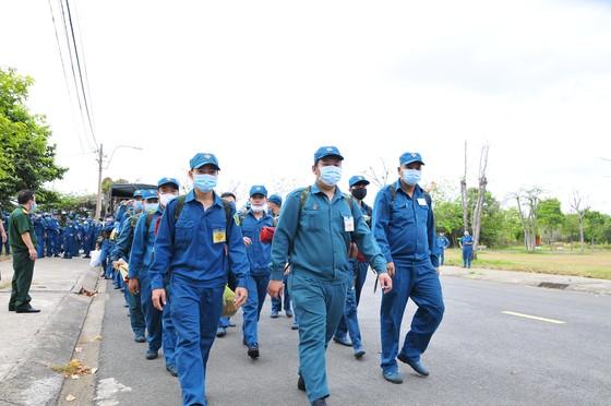 Bộ Tư lệnh TPHCM triển khai hơn 300 cán bộ chiến sĩ phòng chống dịch Covid-19 ảnh 1