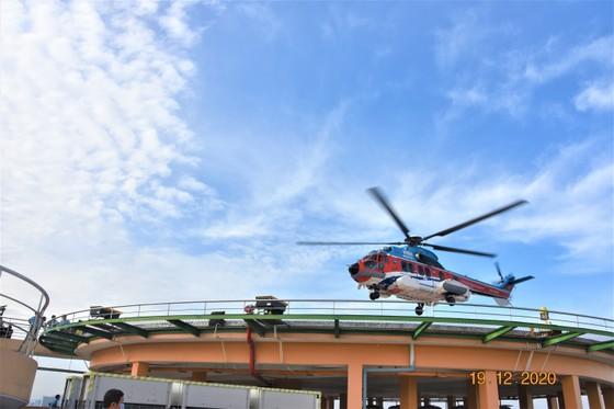 Sân bay cấp cứu bằng trực thăng đầu tiên của Việt Nam chính thức hoạt động ảnh 3