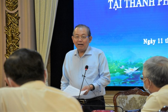 Phó Thủ tướng Thường trực Trương Hoà Bình: Chúc TPHCM sớm thắng dịch Covid-19 ảnh 1