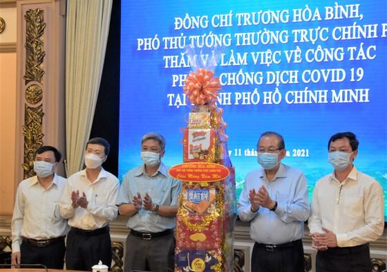 Phó Thủ tướng Thường trực Trương Hoà Bình: Chúc TPHCM sớm thắng dịch Covid-19 ảnh 4