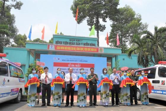 Bệnh viện Quân dân y miền Đông chính thức trở thành trạm cấp cứu vệ tinh thứ 38 ảnh 1