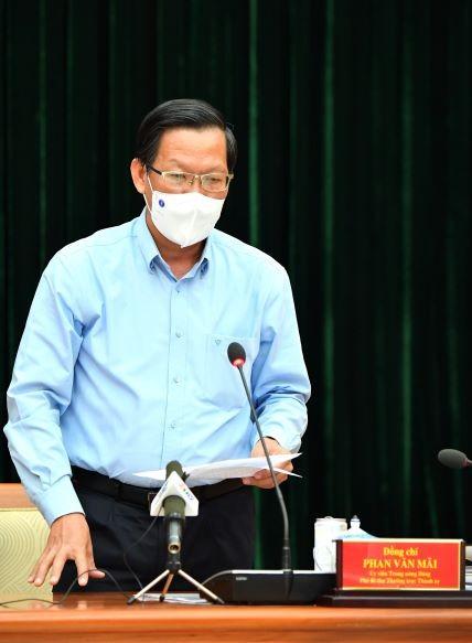 Bí thư Thành ủy TPHCM Nguyễn Văn Nên: Xem xét, chọn lựa những giải pháp tốt nhất cho thành phố và người dân, doanh nghiệp ảnh 3