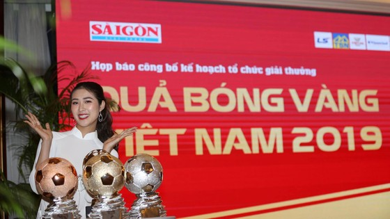 Hoa hậu Du lịch thế giới được yêu thích nhất năm 2019 đẹp rạng rỡ bên quả bóng vàng Việt Nam ảnh 4