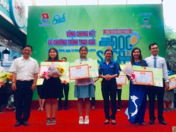 Học sinh lớp 9 đoạt giải nhất cuộc thi 'Xây dựng thói quen đọc sách trong giới trẻ' ảnh 3