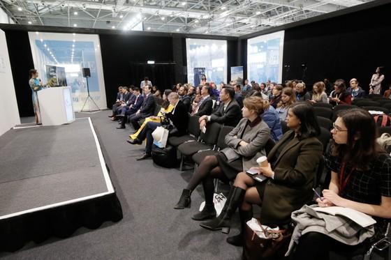 Sở Du lịch TPHCM giới thiệu Lễ hội Áo dài tại WTM London 2019 ảnh 4