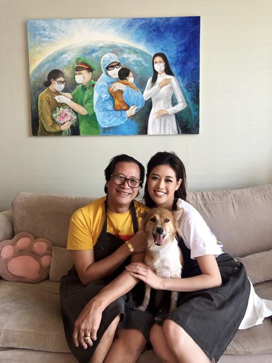 Hoa hậu Khánh Vân gửi tặng 150 triệu đồng cho quỹ phòng chống dịch Covid-19  ảnh 1