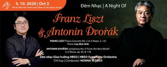 Giám đốc Âm nhạc Honna Tetsuji và nghệ sĩ piano Lưu Đức Anh sẽ tham gia đêm nhạc Franz Liszt và Antonin Dvorak ảnh 1