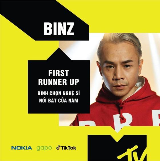 Binz và Jack là đại diện Việt Nam tranh giải MTV EMA 2020 và ATA 2020 ảnh 3