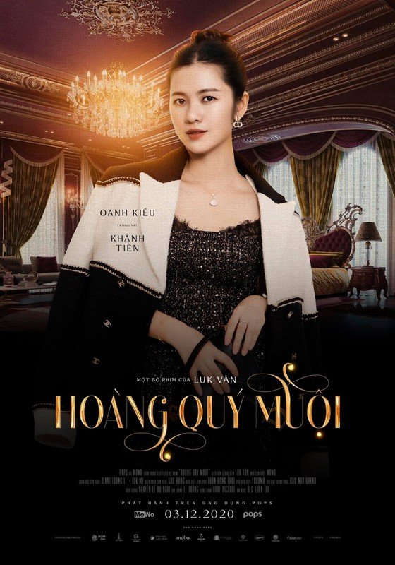 """Dự án webdrama """"Hoàng Quý Muội"""" của đạo diễn Luk Vân chính thức lên sóng ảnh 4"""