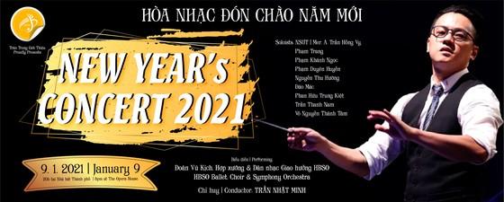 Đêm hòa nhạc HBSO đầy sắc màu đón chào năm mới 2021  ảnh 1