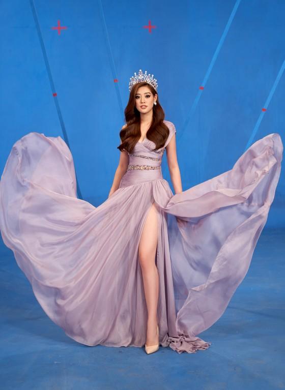 Hoa hậu Khánh Vân sẵn sàng cho Miss Universe 2020 ảnh 6