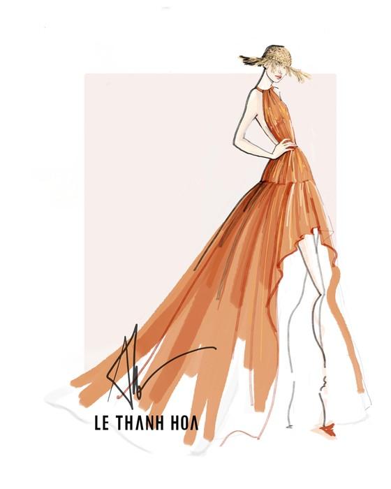 Hoa hậu Khánh Vân, vợ chồng Đông Nhi, Ông Cao Thắng cùng xuất hiện tại show thời trang của NTK Lê Thanh Hoà ảnh 5