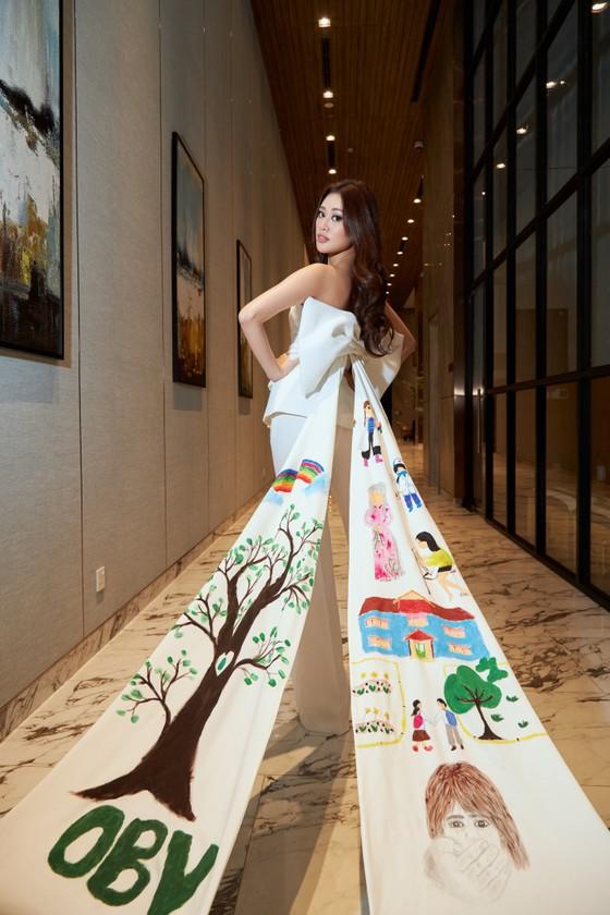 Dự án bảo vệ trẻ em xâm hại của hoa hậu Khánh Vân được tổ chức Miss Universe quan tâm ảnh 3