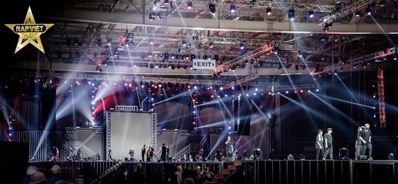 Live Concert Rap Việt All-Star hé lộ loạt hình ảnh tổng duyệt 'gây choáng' ảnh 1