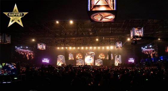 'Live concert Rap Việt All-Star' khiến rap fan đắm chìm trong không gian âm nhạc đỉnh cao  ảnh 1