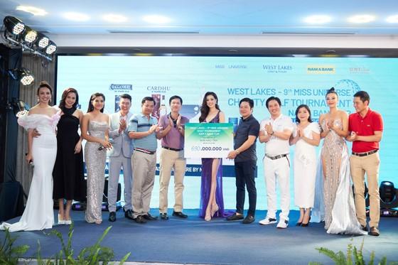 Giải Golf thiện nguyện Hoa Hậu Hoàn vũ Việt Nam quyên góp được 690 triệu đồng xây dựng 2 cây cầu tại tỉnh Long An ảnh 6