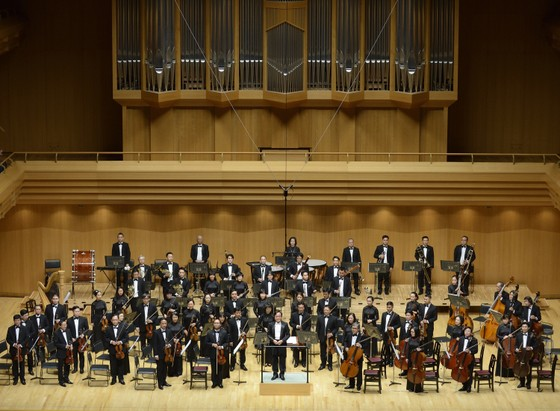 Hơn 100 nghệ sĩ giao hưởng cùng trình diễn tại buổi hòa nhạc The Great German Three B's ảnh 1