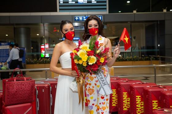 Hoa hậu Khánh Vân chính thức lên đường sang Mỹ chinh phục Miss Universe ảnh 7