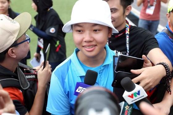 Kiều Oanh giành huy chương bạc bắn cung ảnh 1