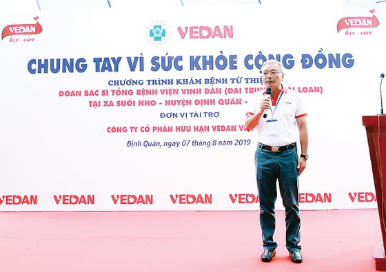 Vedan Việt Nam tổ chức khám bệnh từ thiện và phát thuốc miễn phí - 'Chung tay vì sức khỏe cộng đồng' ảnh 1