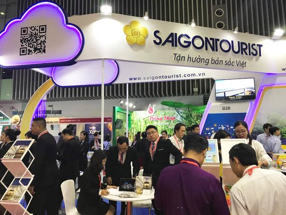 Saigontourist tham gia hội chợ du lịch quốc tế TPHCM 2019  ảnh 3