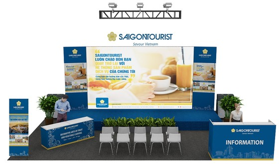 Saigontourist tham gia hội chợ du lịch quốc tế TPHCM 2019  ảnh 2