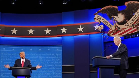 Cuộc tranh luận cuối cùng giữa Tổng thống Mỹ Donald Trump và ứng viên Joe Biden: Ôn hòa và trật tự hơn ảnh 3