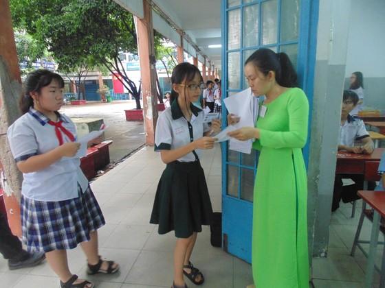 Sáng 2-6, hơn 87.000 thí sinh bước vào kỳ thi tuyển sinh lớp 10 công lập ảnh 6