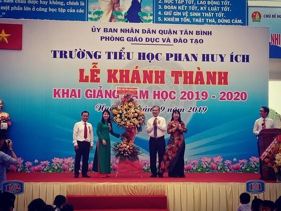 Khánh thành và khai giảng Trường Tiểu học Phan Huy Ích (quận Tân Bình) ảnh 5