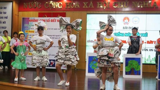 TPHCM: Nhiều mô hình sáng tạo ở trường học hưởng ứng cuộc vận động người dân không xả rác ảnh 1