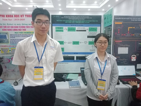 Cuộc thi Khoa học kỹ thuật cấp TP 2019-2020: Nhiều đề tài mang tính ứng dụng cao ảnh 4