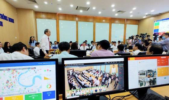 TPHCM ra mắt mô hình thí điểm 2 trung tâm điều hành thông minh của ngành y tế và giáo dục ảnh 4
