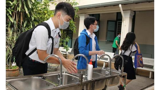 TPHCM: Trường học đảm bảo an toàn cho học sinh khi trở lại trường sau thời gian nghỉ học vì dịch Covid-19 ảnh 5
