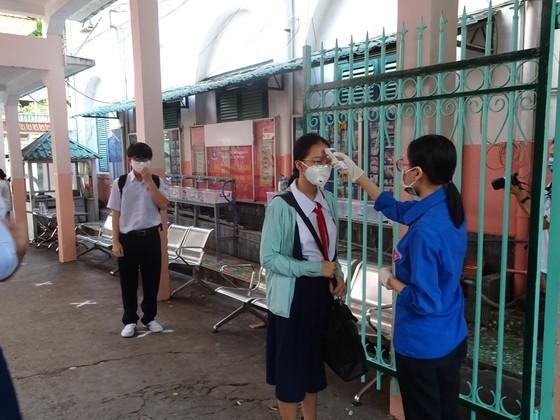 TPHCM: Trường học đảm bảo an toàn cho học sinh khi trở lại trường sau thời gian nghỉ học vì dịch Covid-19 ảnh 1
